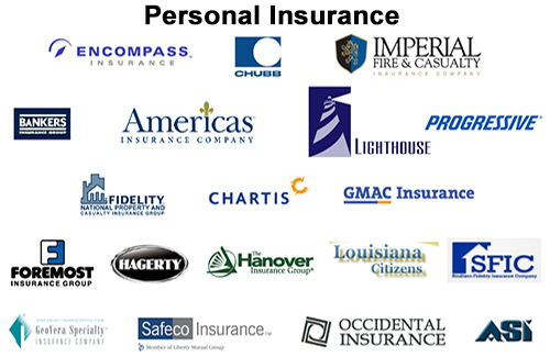 Personal Insurance Companies